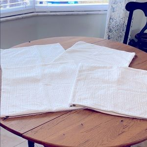 PB Set of 4 NWOT pillow covers